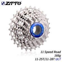 ZTTO-Cassette de 11 velocidades para bicicleta de carretera, Piñón rojo duradero, 11-28T ULT 11-25T 11 velocidades, DA 9100