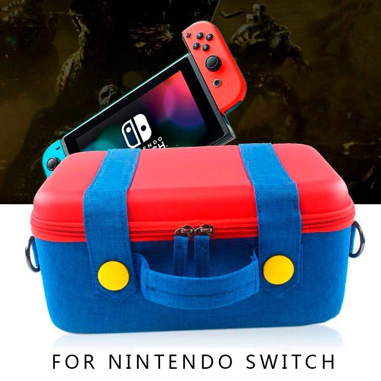 Mudar Saco de Armazenamento Eva para Nintendo Game Console Anfitrião NS Pacote de Acessórios Acessórios Interruptor Joycon Nintend Caso