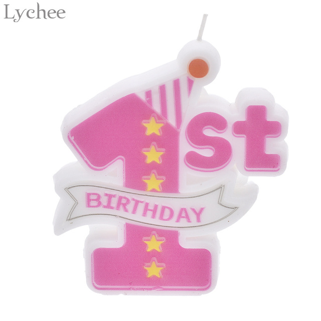 1st Birthday Scented Candles