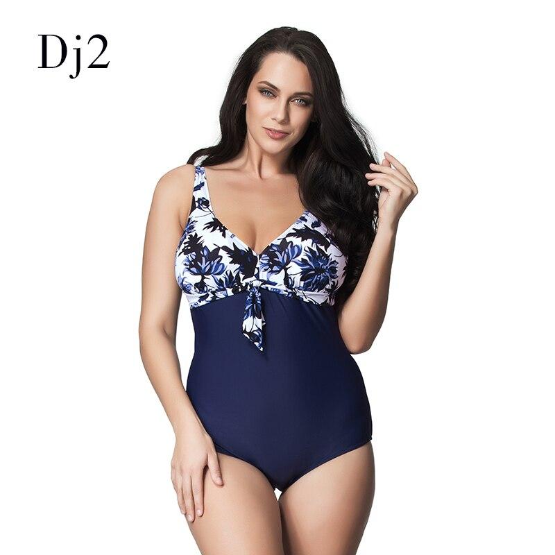 High Quality Brazilian Style Plus Size Swimwear Women One Piece Vintage Retro Swimsuit Plus Size Floral Printed Bathing Suit 6xl цена