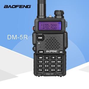 Image 1 - Baofeng DM 5R ווקי טוקי Dual Band חם CB רדיו 2 דרך משדר נייד VHF UHF UV 5R DMR רדיו Communicator סטריאו