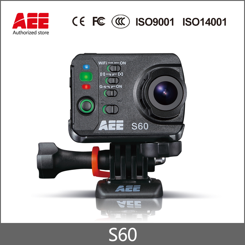 100% Original AEE S60 WiFi Action camera Hight Definition 1080P/60fps HD 100M Waterproof 16M Same look as S71T 50% Discount!!!!! aee s60 magicam экшн камера