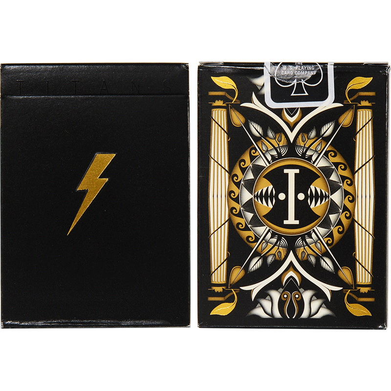 Titan Playing Cards Poker Size Deck USPCC Limited Edition New Sealed + Gaffs Magic Props