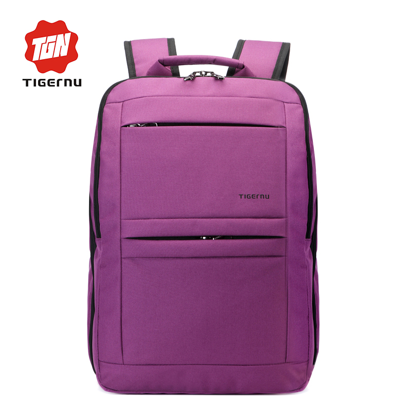 ФОТО Women Backpacks For Teenage Girls Youth Trend Schoolbag Boys Student Bag  TIGERNU BRAND Nylon Waterproof Laptop Backpack Men