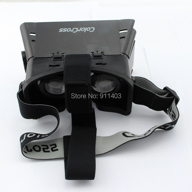 0b6d532efe4a 2015 Colorcross II Head Mount Plastic 3D Glasses google cardboard Vr  Virtual Reality oculus rift for 3D movie video games-in 3D Glasses  Virtual  Reality ...