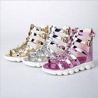 Prinzessin Schuhe Für Mädchen Kinder Sommer Kinderschuhe Mädchen Mode Mädchen Sandalen 2017 Neue Sandales Fille Neue Mädchen Schuhe