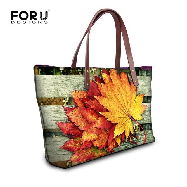 FORUDESIGNS 2017 Women Bag Flower Printing Luxury Handbags,Large Ladies Handbag,Woman Summer Beach Bag,Tote Bag Shoulder Bags