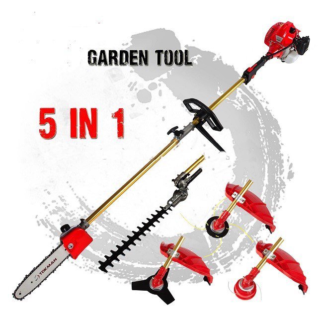 Professional garden tools trimmer cutter Brush cutter 5-1 lawn mower  grass trimmer tree pruner Bush Cutter Whipper Snipper 2016 new garden tools top quality charging grass trimmer portable home lawn mower with wheels trimmer grass trim level machine