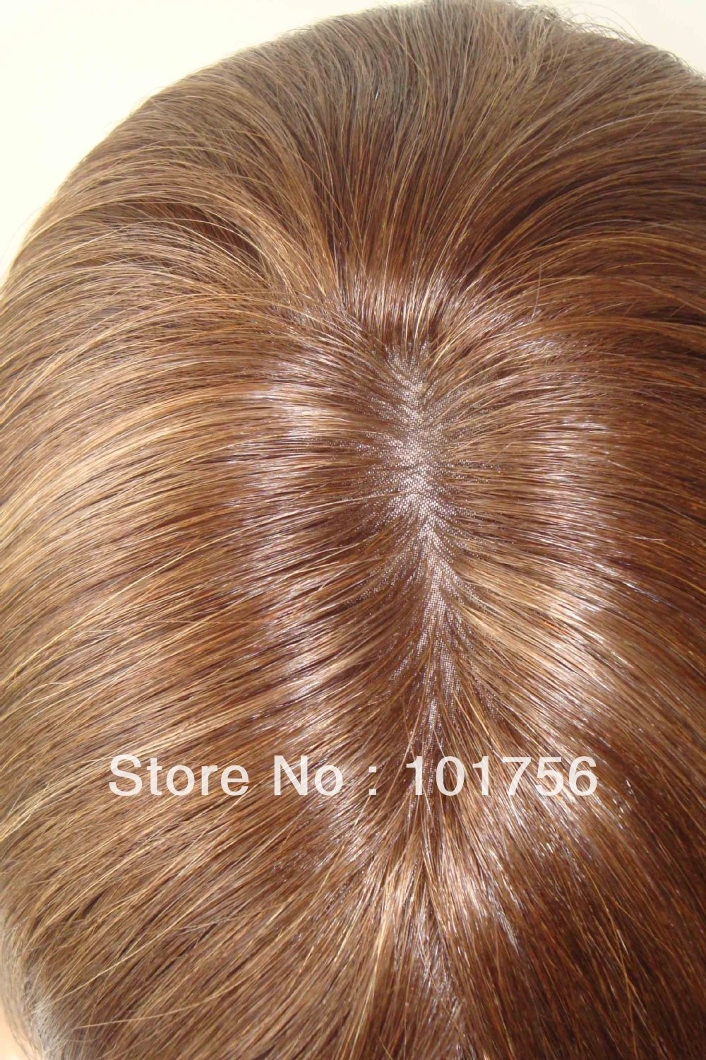 Beautiful Mixed Color 81016 European Hair Sheitels Wigs On