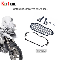 For BMW R 1200 GS 2004 2005 2006 2007 2008 2009 2010 2011 2012 Stainless steel Headlight Protector Guard Headlight Grill Cover