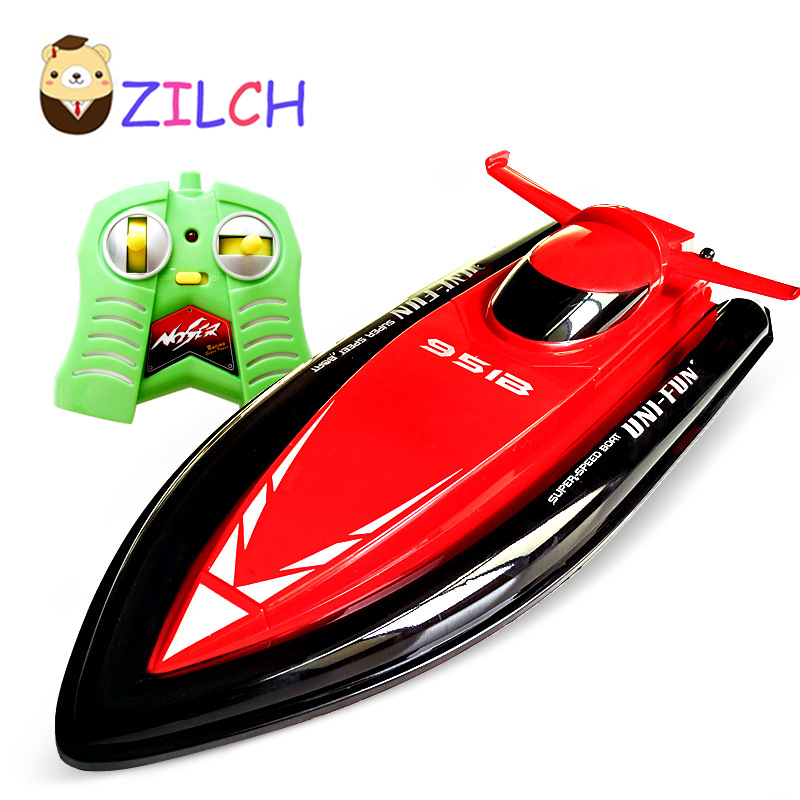 40CM Range 60M Speed 15KM/H 2.4G Radio Remote Control Cruise Model RC Racing Speedboats Water Boat Electric Motorboat Toy ...