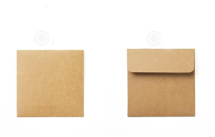Мешок 250gsm крафт компакт-диска случае бумага,