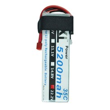 XXL RC Battery 22.2V 5200mah 6S 35C MAX 70C RC Toys & Hobbies For 90MM F-15 Helicopters RC Models akku Li-polymer Battery