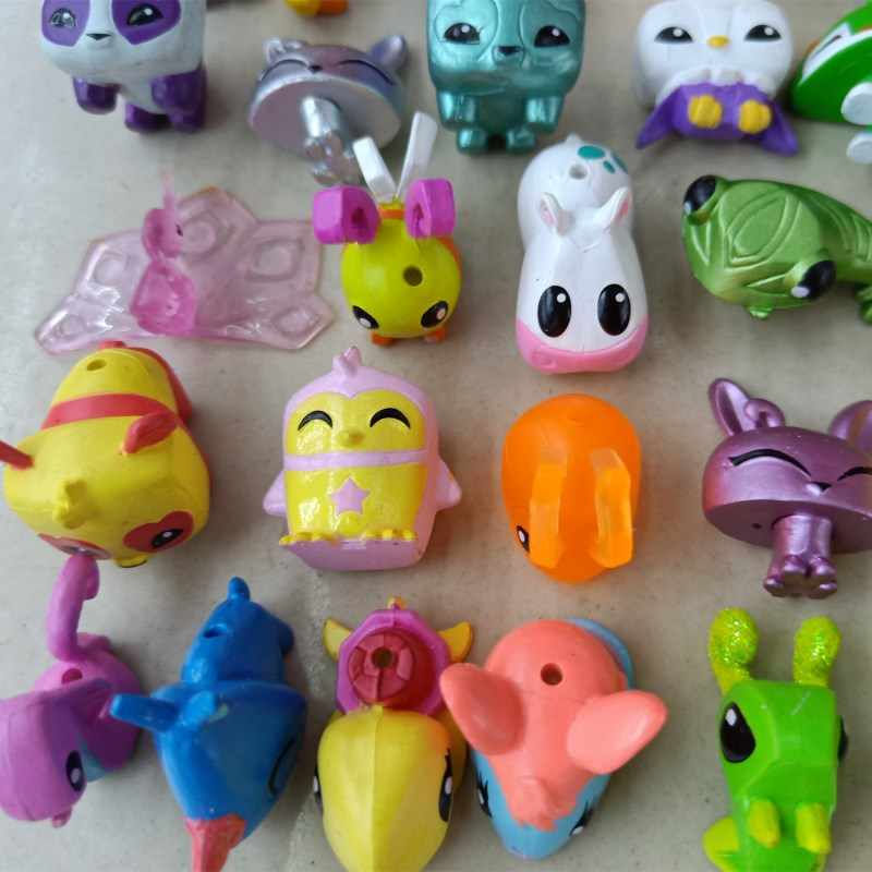 Detail Feedback Questions About 10pcs Set Animal Jam Figures Toys