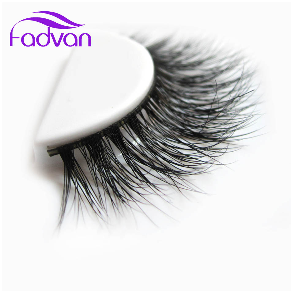 100% Real 3D Mink Fur Lashes Makeup Eyelashes Cilios All Hand Made Thick Natural Long Fadvan Hot Sale Strip Eye Lashes