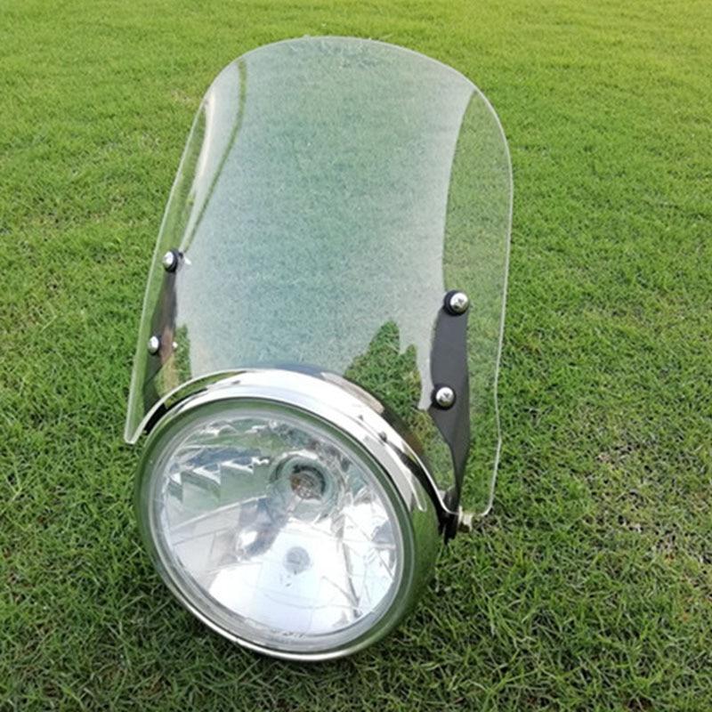 Pour Triumph Bonneville T100 accessoires moto pare-brise pare-brise couvre carénage pare-vent déflecteur d'écran