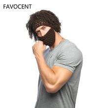 9732378c3e0 Handmade Knitted Men Winter Crochet Mustache Hat Beard Beanies Face Tassel  Bicycle Mask Ski Warm Dad