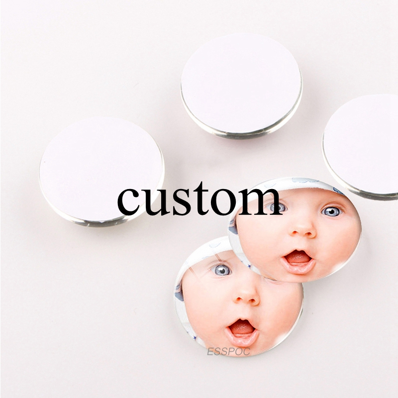 100pcs lot Custom Photo Logo Glass Cabochon 30mm 25mm 20mm 16mm 12mm Diy Jewelry Findings support
