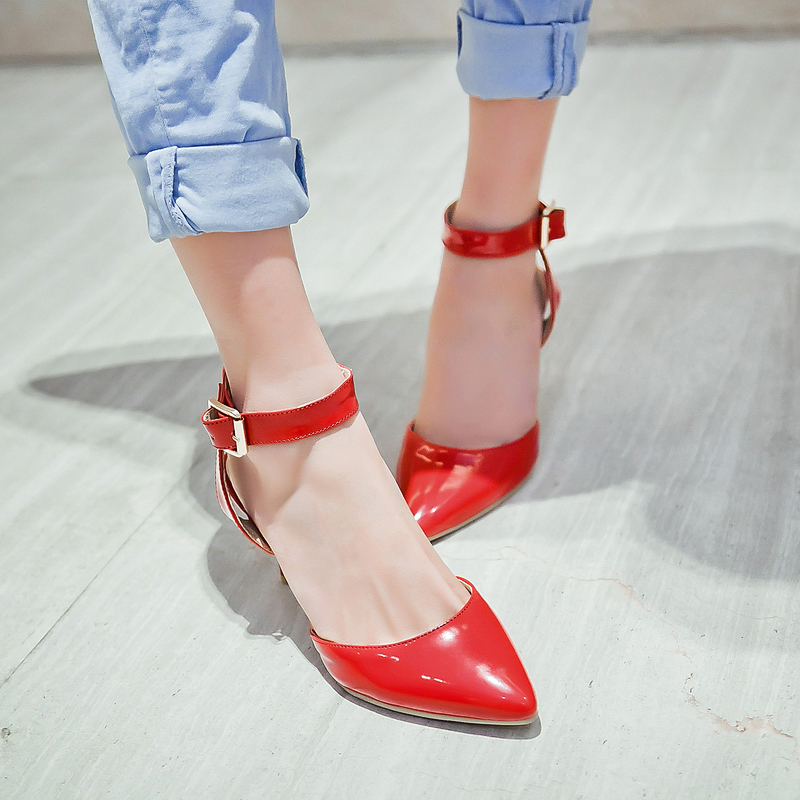 ФОТО  Big Size 11 12Summer sandals women high heels new han edition fine with ms word cingulate joker sandals flip-flops
