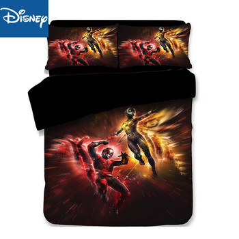 King size 3D print bedding set duvet cover for teenagers twin bed spread bedclothes 3pcs children's bedroom decoration promotion