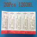 Tattoo Needles Disposable Cartridges 20PCS/LOT 1203RL Round Liner TATTOO Hawk&T-TECH BRAND Wholesale