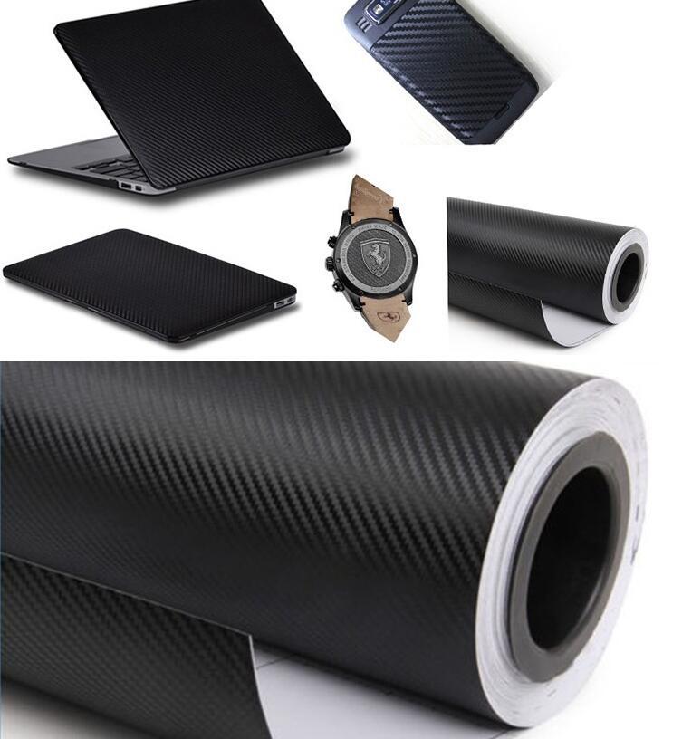 Motorcycle Automobile Carbon Fibre Sticker 3D Carbon Fiber Vinyl Film Sticker Change Colour Film Decoration Subsidies