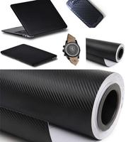 Motorcycle Automobile Carbon Fibre Sticker 3D Carbon Fiber Vinyl Film Sticker Change Colour Film Decoration Subsidies