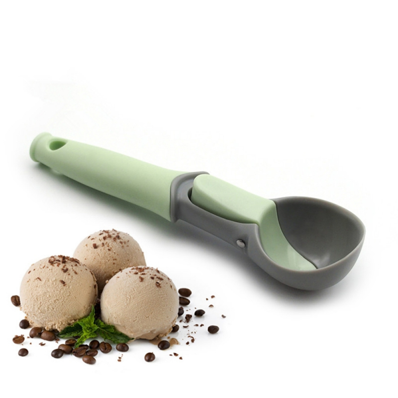 Portable Non-stick Anti-feeze Ice Cream Scoop Tools Ice Cream Scoops Stacks For Home Kitchen Accessories image