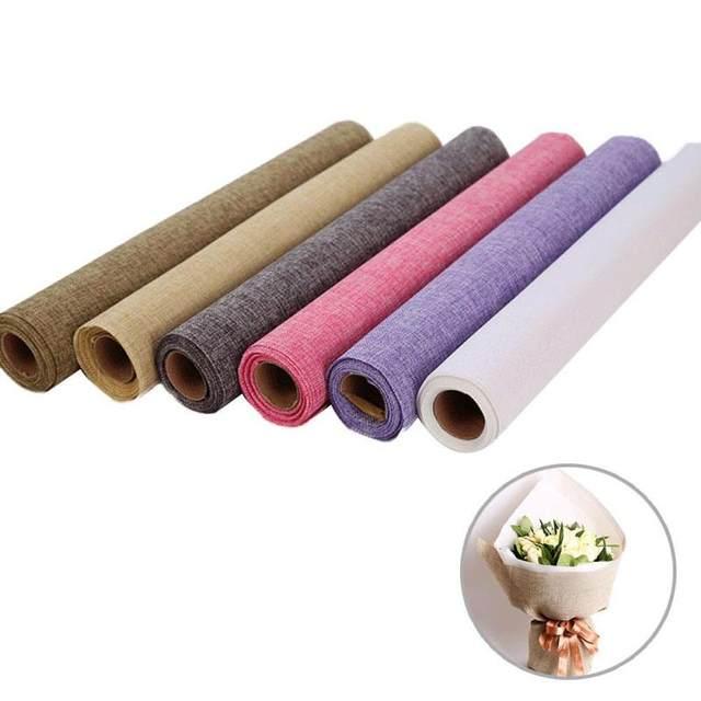 Hemp Cotton Line Flower Wrap Package Wedding Bouquet Decoration High Grade Flowers Roll Gift Packaging Materials 3