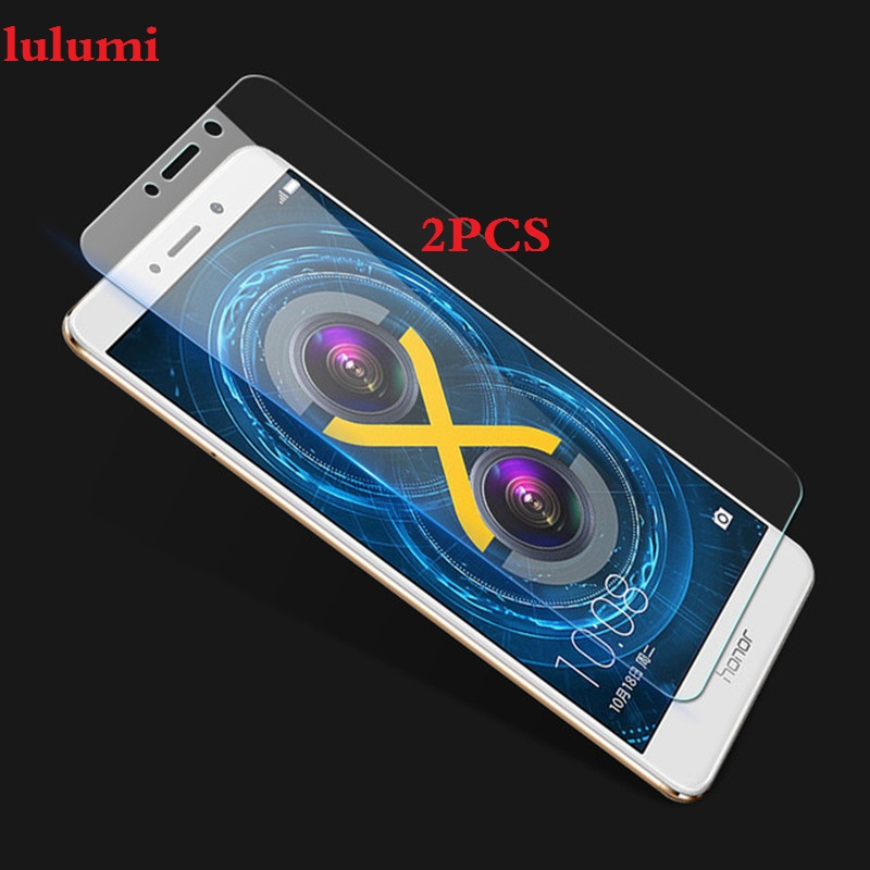 2pcs Tempered Glass For Huawei GR5 2017 BLL-L21 BLL L22 Mate9 Lite Case Screen Protector On Honor 6X BLN-AL10 BLN L24 Cover