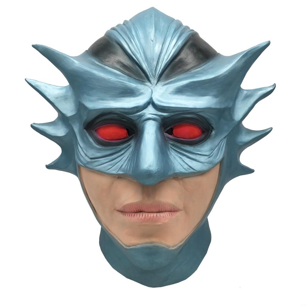 アクアマンオーシャンマスター完全な頭部マスクラテックスマスク