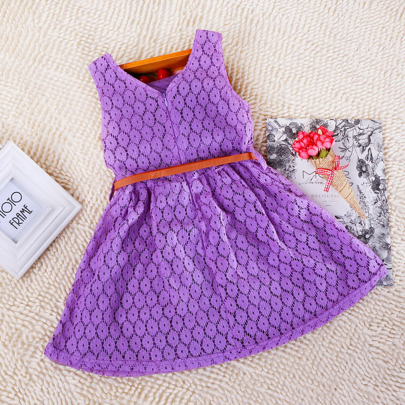 4 color Free shipping Fashion Baby Girls Clothing Cotton Crochet ...