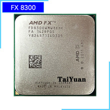 AMD FX 시리즈 FX 8300 FX 8300 FX8300 3.3 GHz 8 코어 CPU 프로세서 FD8300WMW8KHK 소켓 AM3 +