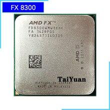 AMD procesador de CPU serie FX FX 8300 FX 8300 FX8300, 3,3 GHz, ocho núcleos, FD8300WMW8KHK, Socket AM3 +