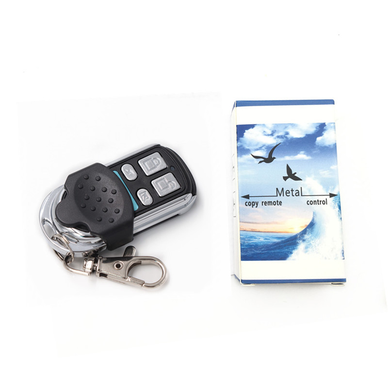 1pc Electric Cloning Universal Gate Garage Door Remote Control Fob 433mhz Key Fob Learning Garage Door Copy Controller