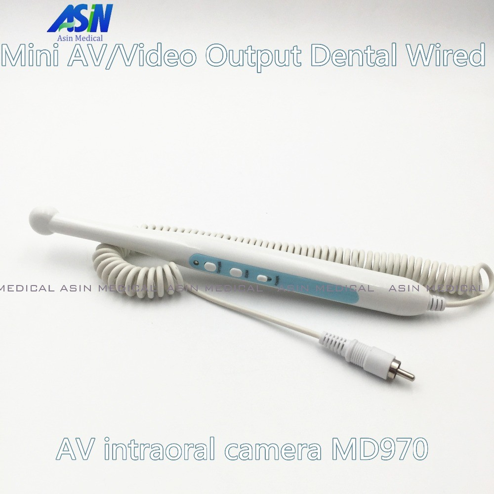 High Quality 2016 new Mini AV/Video Output Dental Wired AV intraoral camera MD970 Video/RCA Rechargeable Intra Oral Camera dental auto focus hd intraoral camera intra oral camera system auto focus high technology wired