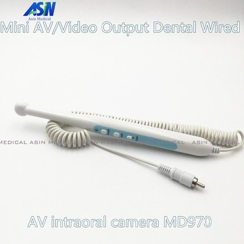 High Quality 2016 new Mini AV/Video Output Dental Wired AV intraoral camera MD970 Video/RCA Rechargeable Intra Oral Camera