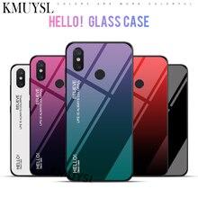 Чехол из закаленного стекла с градиентом для Xiaomi mi 8 SE A2 Lite A1 mi x 2S 6X 5X Max 2 3 Red mi Note 6 Pro 5A Prime 5 Plus 6A 4 4X