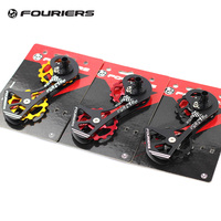 Fouriers CNC Road Bike Rear Derailleur Cage with Pulley Up 15T Down 15T Drivetrain For Ultegra Dura Ace 9000 9070 6800 6870