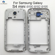 f66e6d15fa0 Marco medio para Samsung Galaxy S4 mini i9190 i9192 i9195 Original Nuevo  Marco medio bisel vivienda Case + Side botones