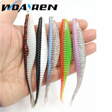 5Pcs Soft Bait 120mm 7g Fishing Lure Silicone Baits Isca Artificial Para Pesca Grub Bass Leurre Peche Fishing Wobblers FA-337