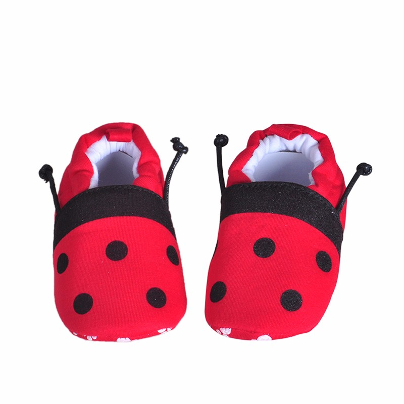 2016 Newy Style Soft Cartoon Baby Boys Girls Infant Shoes Slippers 0-6 6-12 First Walkers Cotton Skid-Proof Kids Baby Shoes (4)