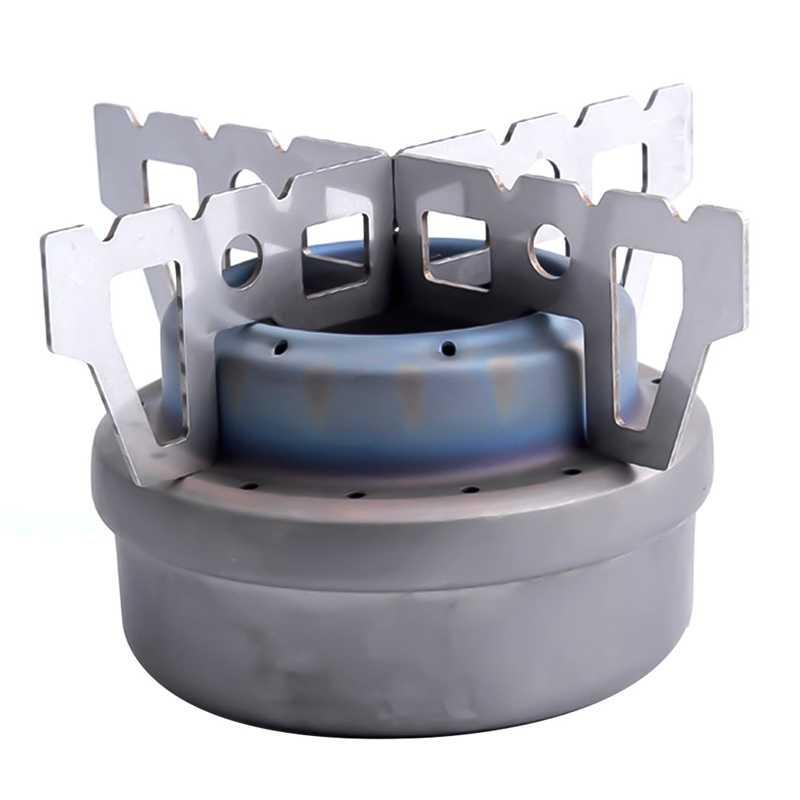2019 Estande Rack de Fogão A Álcool Espírito Burner Suporte Base de Rack de Aço Inoxidável Ferramentas Ao Ar Livre