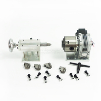 Rotary Axis A Axis 4th Axis CNC Tailstock Dividing Head For CNC Router 3040 6040
