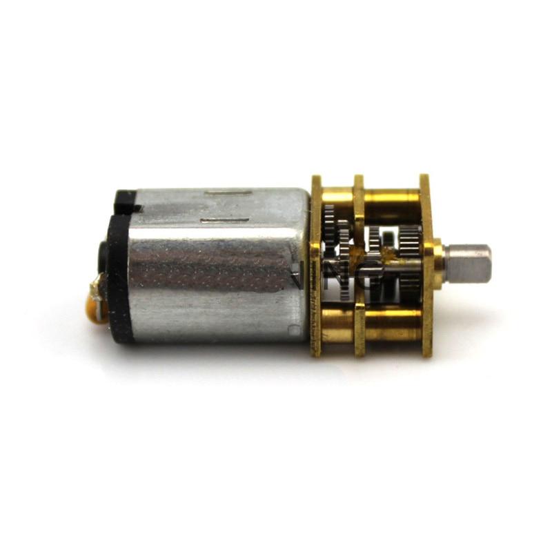 1 шт.. GA12-N20 редуктор Мотор миниатюрный DC мотор низкой скорости мотор 3-В 6 в 3 мм d-вал ось запасные части для RC автомобиля/лодки/Робот Модель