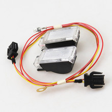 READXT Car Trunk Door Panel Warning light lamp+Cable Plug For A3 A4 S4 Q3 Q5 Q7 TT R8 A6 Sharan Phaeton 8KD947415C 8KD 947 415 C