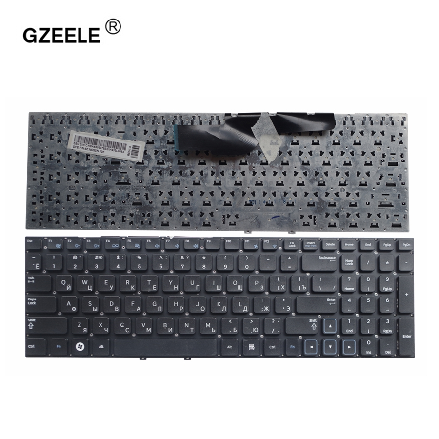 GZEELE RUSSIAN Laptop Keyboard For Samsung NP 300E5A 300E5C 305E5A NP300E5A 305E5A 300V5A 305V5A 300E5C 300E5X RU Keyboard BLACK