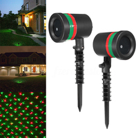 Star Laser Light Red Green Shower LED Projector Christmas Lamp Outdoor Garden