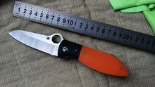 JH High Quality C184 Folding knife D2 Blade G10 Handle Hunting C184GPOR Knife Camping Survival Pocket Knife Outdoor EDC Tool