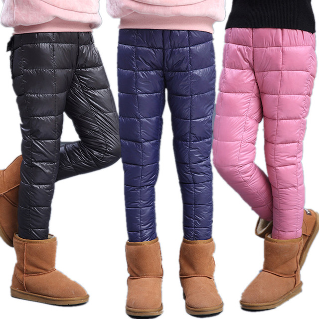 82f9d138585d 5 12T Chumhey Girls Winter Trousers Warm Cotton Padded Snow Wear ...
